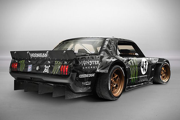 Meet Hoonicorn Ken Block S Monstrous 845 Hp Awd 1965 Ford Mustang Ken Blocks Ken Block Ford Mustang 1965