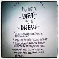 Don't let your #diet become a #eating #disease. Love what you eat.