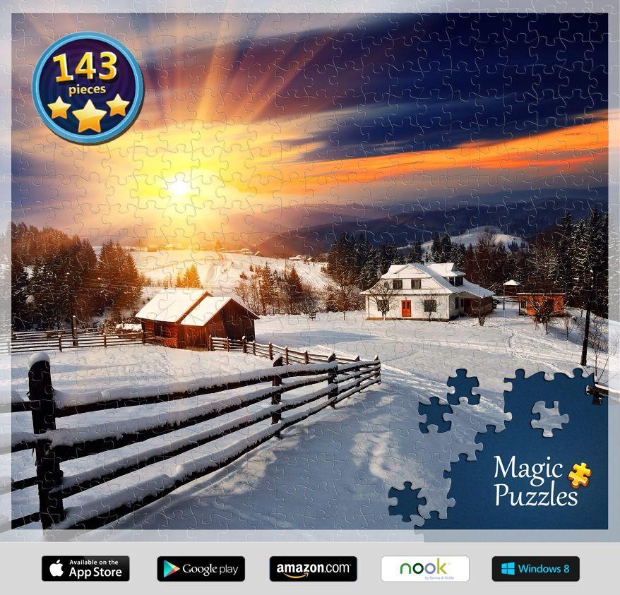 Winter wonderland Magic puzzles, Image storage