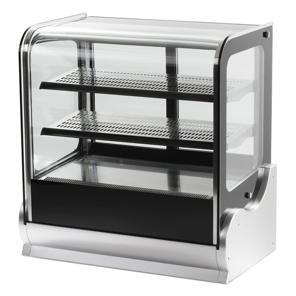 Vollrath 40863 48 Cubed Glass Refrigerated Countertop Display Cabinet Glass Cabinets Display Countertop Display Display Cabinet
