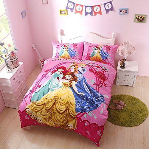 Disney Princess Bedding Sets Twin Size Disney Princess Bed Set Bed In A Bag Comforter Set Ama Princess Bedding Set Comforter Sets Disney Princess Bedding