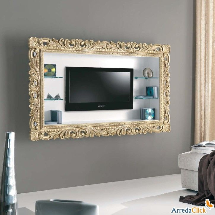 porta-tv-a-parete-tiago | modern design | Pinterest | TVs, Tv ...