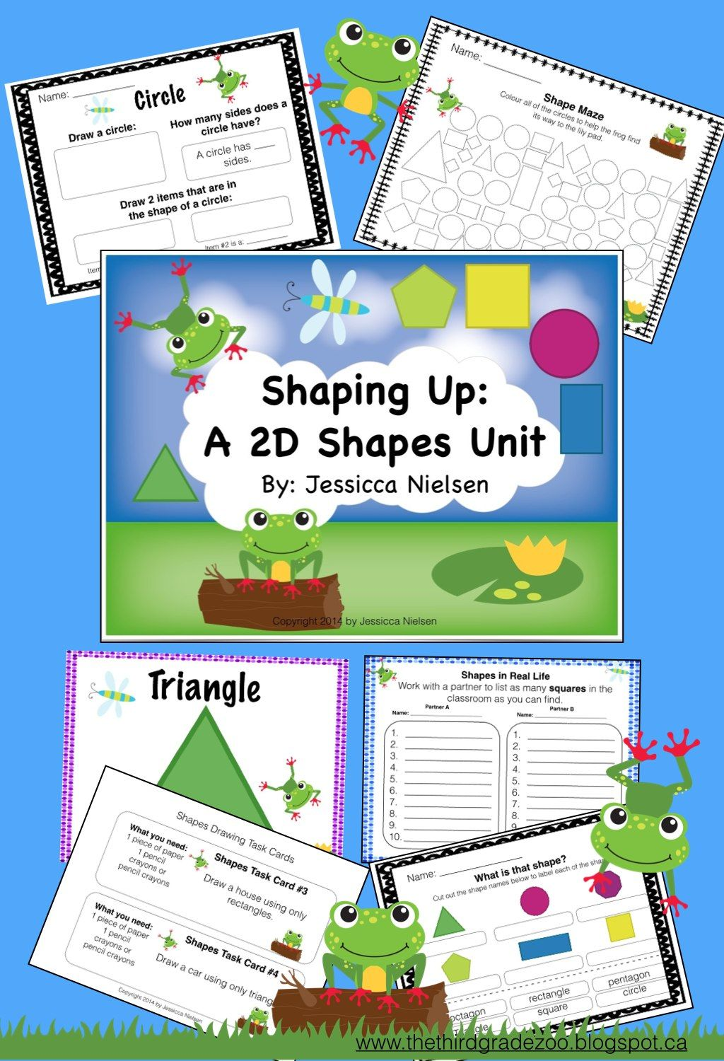 Shaping Up A 2d Shapes Unit