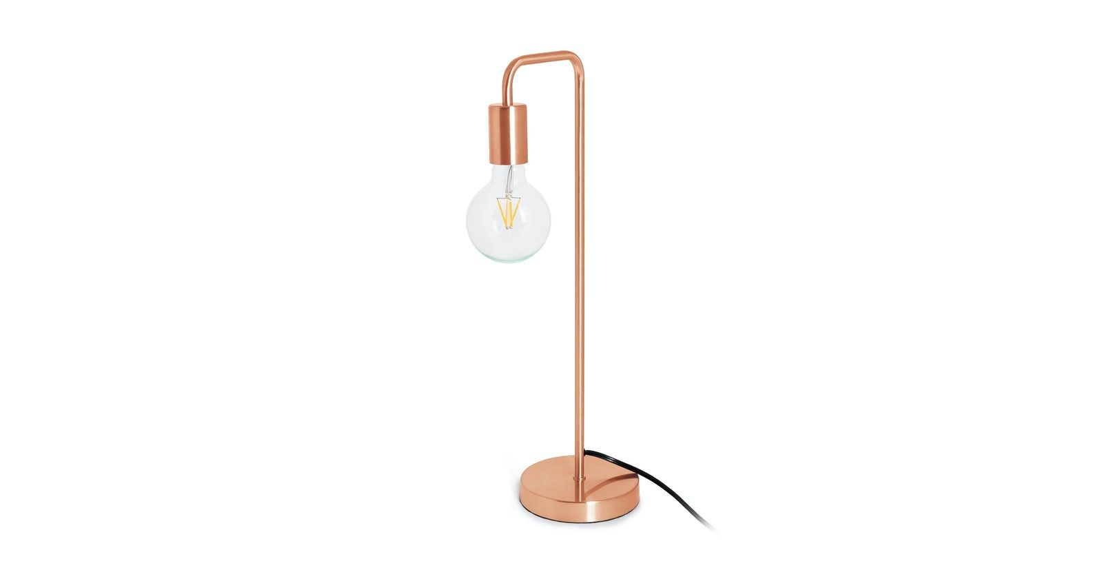 Beacon copper table lamp in 2020 copper table lamp