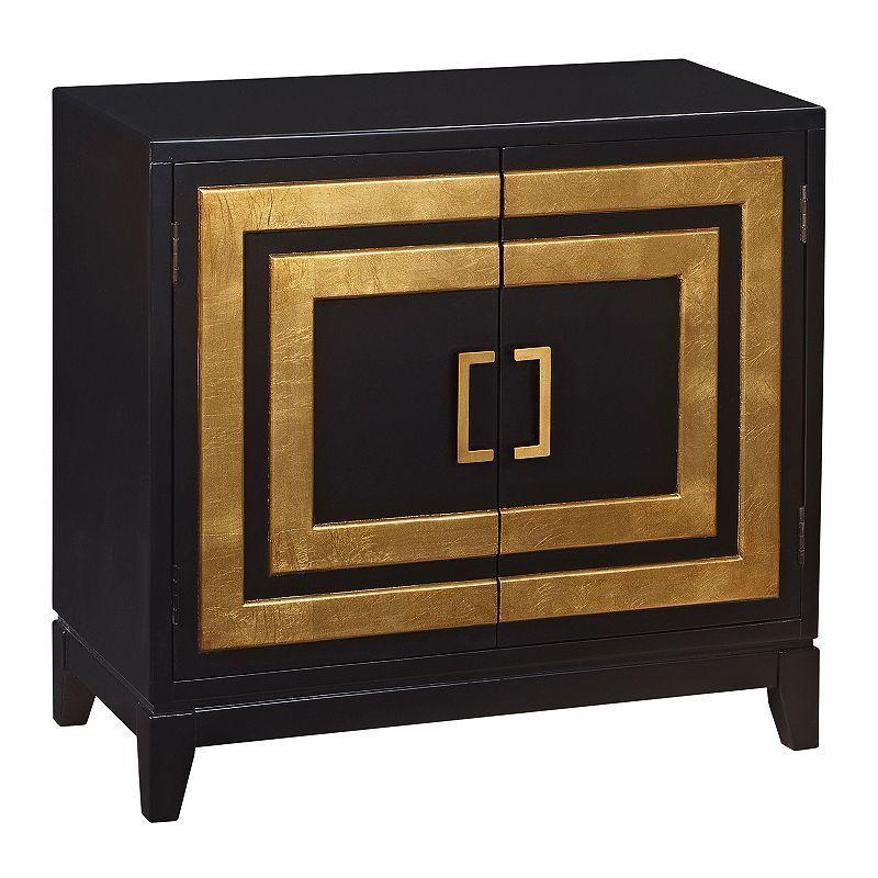 Leslie Modern Squares 2-Door Cabinet   Pulaski furniture ...