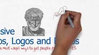 aristotle ethos pathos logos - YouTube