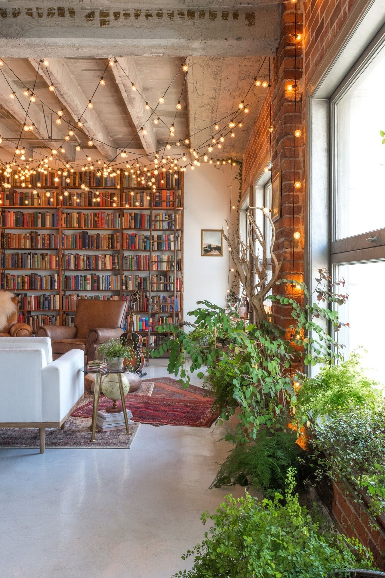 Home Library Loft: The Nordroom — Book-filled Loft In Los Angeles