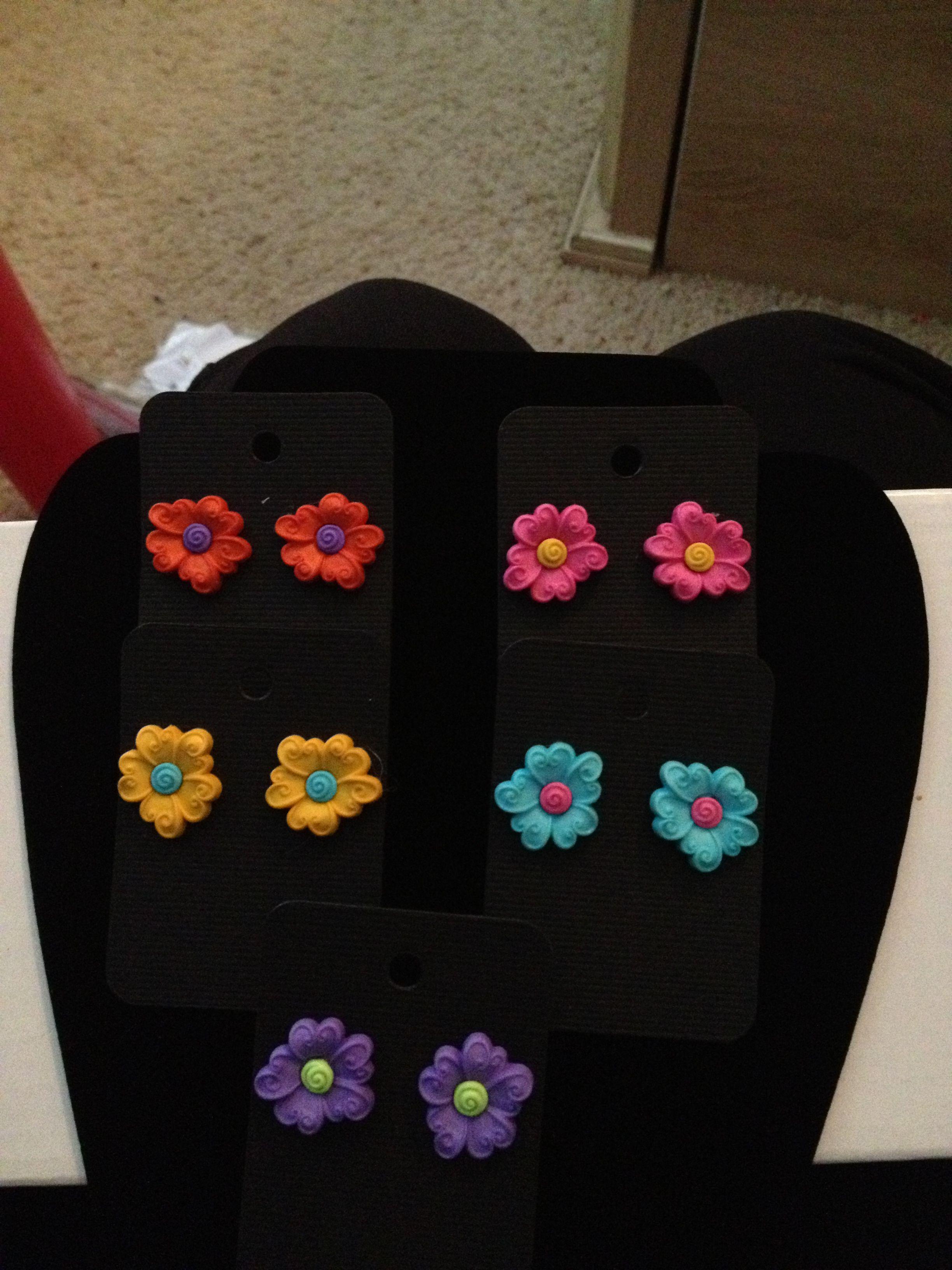 Custom Made Earrings By Me:jmg Email Me @ Jmgdesigner2@yahoo