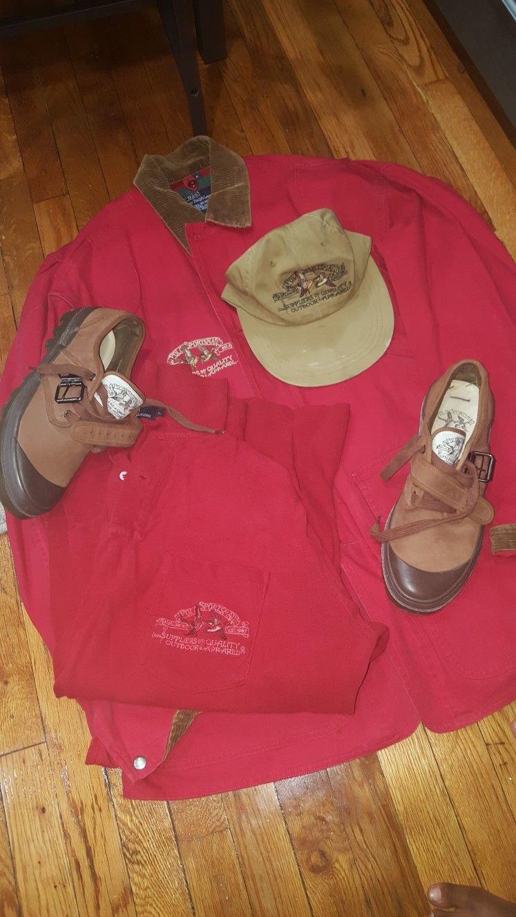 Vintage Ralph Lauren polo Sportsman line.  5b1885672ab5