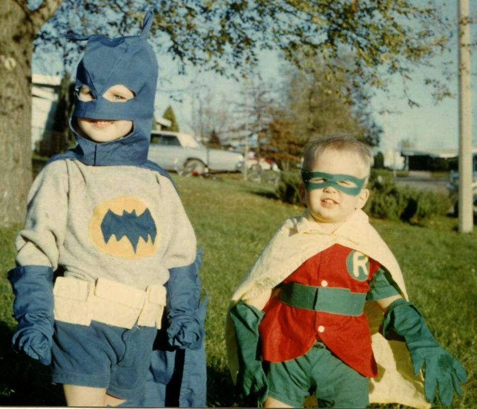 Vintage Homemade Batman and Robin Costumes & batman homemade - Google Search | I wanna be Batman | Pinterest ...