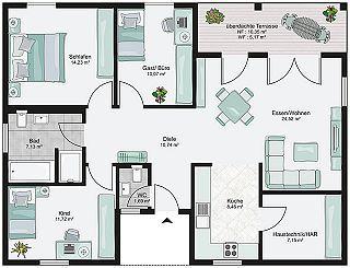 bungalow bauen mit streif h user pinterest bungalow. Black Bedroom Furniture Sets. Home Design Ideas