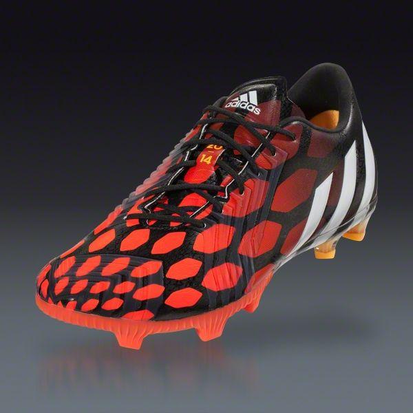 b35461a5d9e1 adidas Predator Instinct FG - Black Running White Infrared Firm Ground  Soccer Shoes