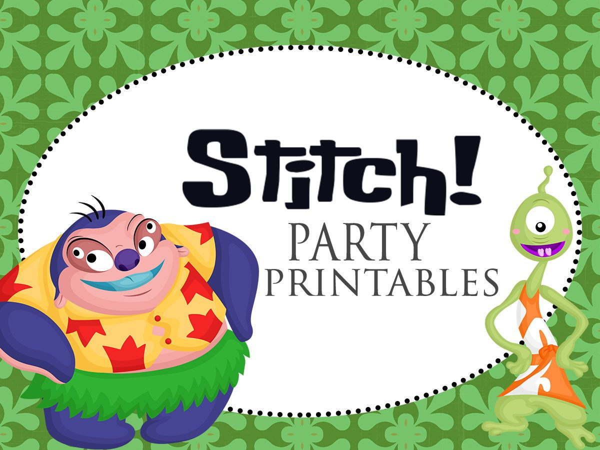 Lilo And Stitch Baby Shower Games And Printables Lilo And Stitch