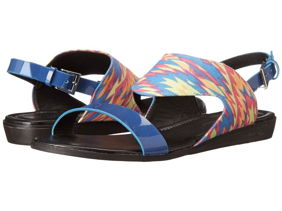 Learn the local patois this season with the Lingo-2 sandal. ; Synthetic and textile upper with a southwestern design. ; Adjustable buckle closure at the heel strap. ; Smooth man-made lining. ; Textured synthetic outsole with a slightly raised heel. ; Imported. Measurements: ; Heel Height: 3 4 in ; Weight: 7 oz ; Product measurements were taken using size 8, width M. Please note that measurements may vary by size.