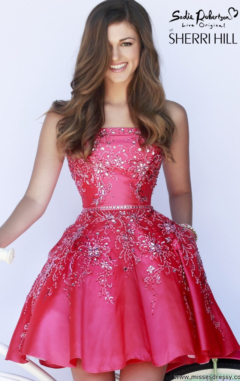 Pink Sherri Hill 21362 by Sherri Hill | Prom dress | Pinterest ...