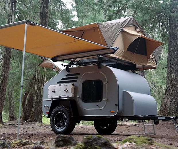 Oregon Trailer Terradrop Off Road Camping Trailer