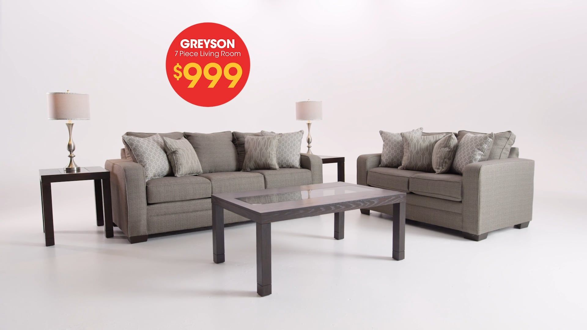 Greyson 7 Piece Living Room Set With Images Living Room Sets