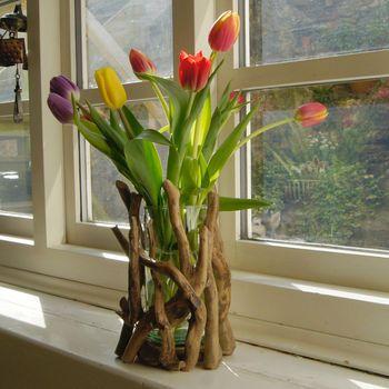 Driftwood Vase Or Candle Holder Driftwood