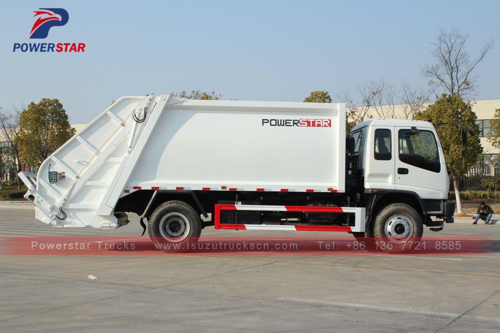 Philippines Fvr Isuzu Garbage Truck Waste Management Garbage Compactor Truck Https Www Isuzutruckscn Com Philippines 1 Trucks Trucks For Sale Garbage Truck