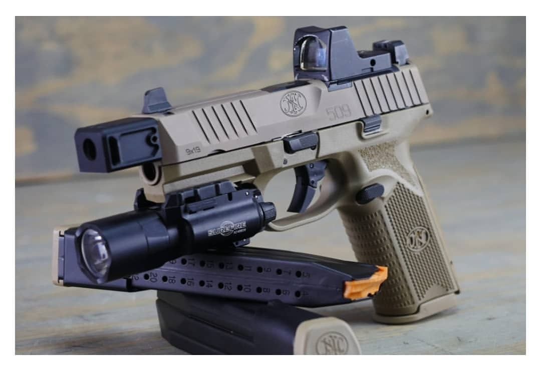 Fn 509 Tactical Self Defense And Shooting Sports Guns Weapons