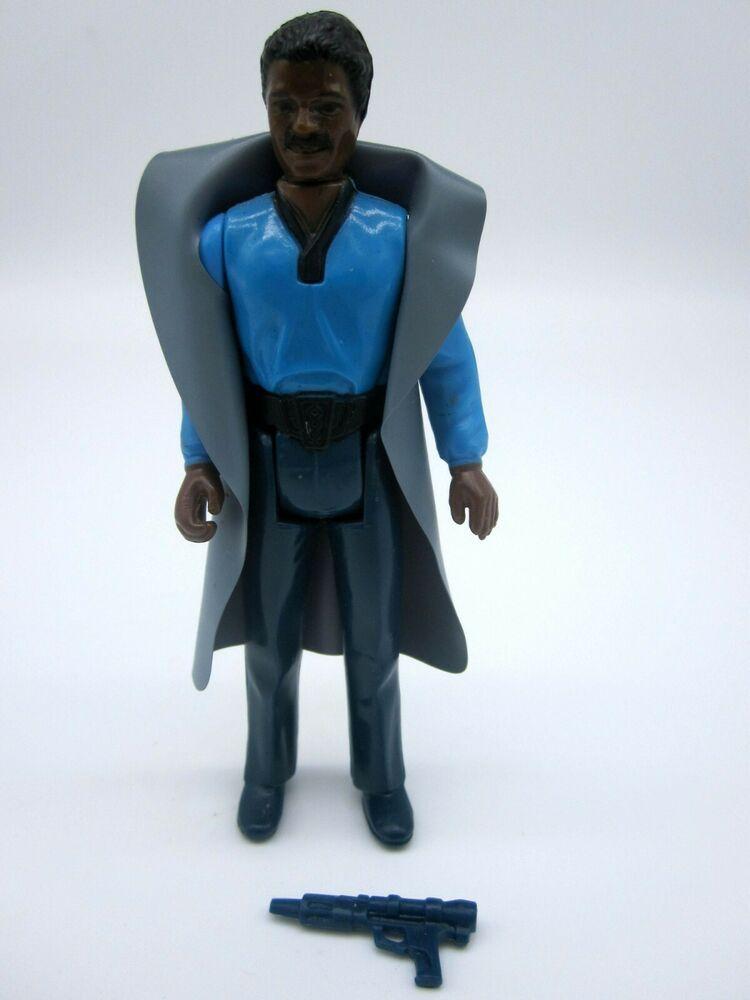 Vintage Star Wars Lando Calrissian 1980 COMPLETE Authentique Kenner accessoires