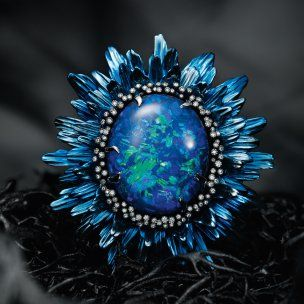 CHOPARD -Fleurs-d'Opales-Ring
