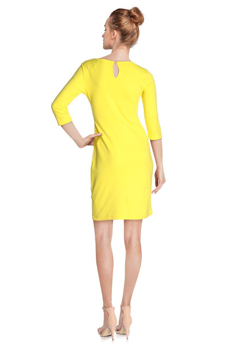 Robe jaune 2018