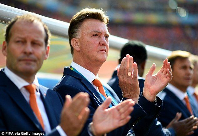 Outspoken: Holland coach had complained over FIFA's scheduling of the game before Brazil's...