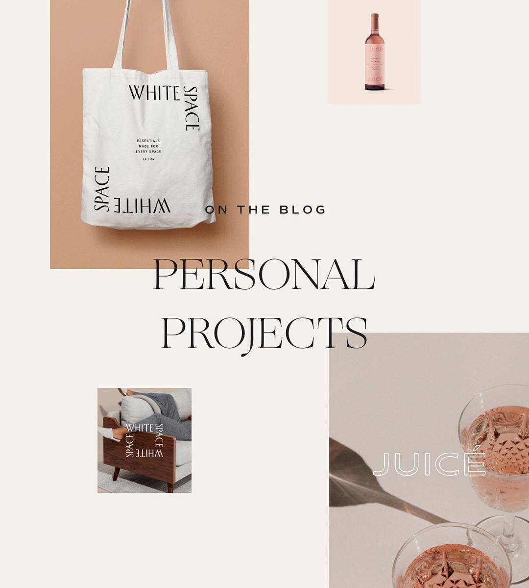 Contemporary Design And Mood Board In