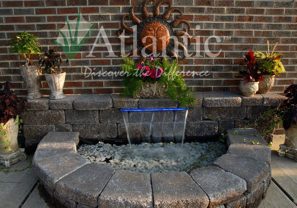 A great addition to any hardscape or patio. Atlantic Water ...