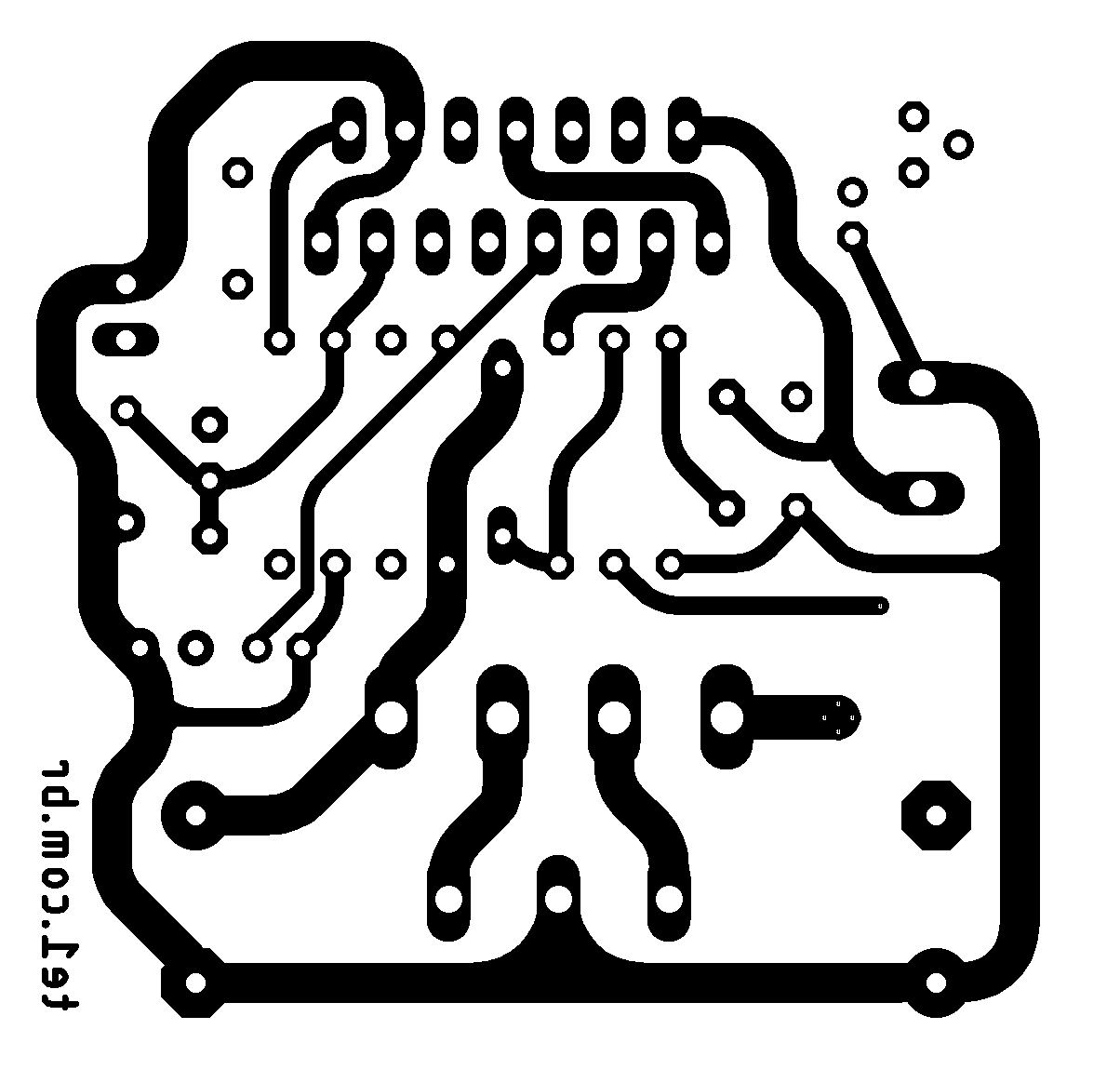 Pcb Layout Tone Control Newgen Ta284 Electronic In 2018 Tda7293 Audio Amplifier Mono With Ic 100 Watts Xtronic Minimus Amplificador Potncia Ci Tda7294 700x677