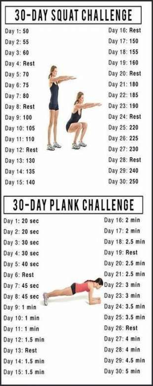 Fitness motivacin ideas challenges squats 50+ ideas #fitness