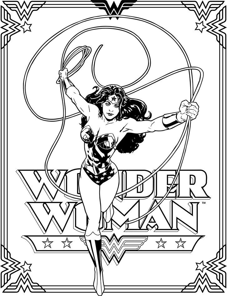Wonder Woman Coloring Book World Exclusive Free Downloads Giveaway Coloring Books Poppy Coloring Page Mandala Coloring Books