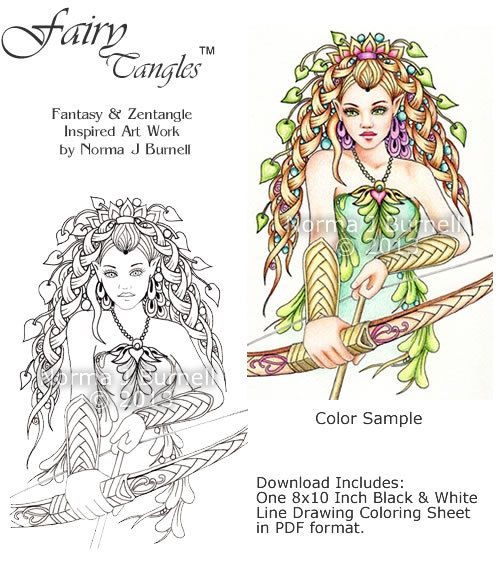 AVAILABLE FOR PERSONAL USE ONLY This Is For One 8x10 Inch PDF Coloring Page File