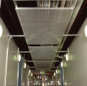 Gooding Aluminium Suspended Ceiling Panels In Lambeth Town Hall