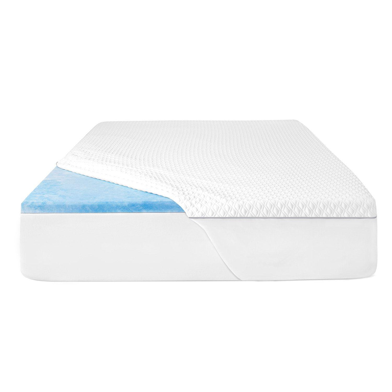 Sealy 2 Memory Foam Mattress Topper With Cover Affiliate Foam