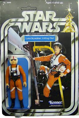 Kenner Star Wars Figure - Luke Skywalker X-Wing Pilot