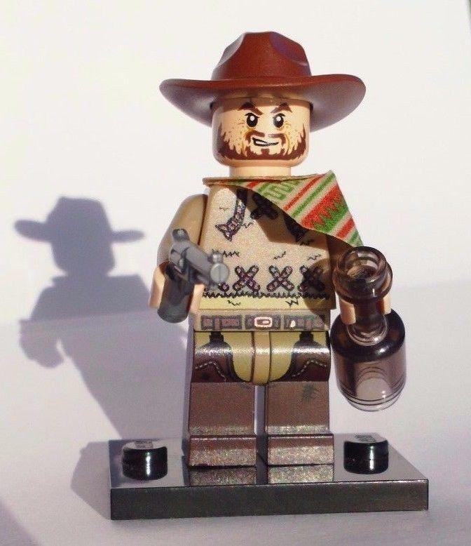 NEW CUSTOM 100% LEGO BATMAN SOLDIER CLINT EASTWOOD COWBOY ...