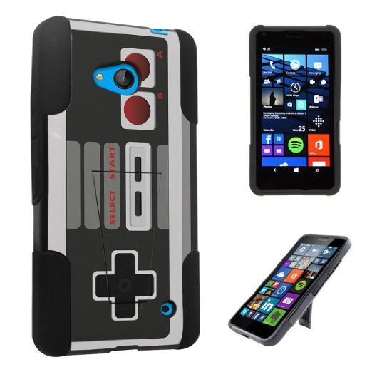 DuroCase ® Microsoft Lumia 640 (Released in 2015) Kickstand Bumper Case - (Game Controller)