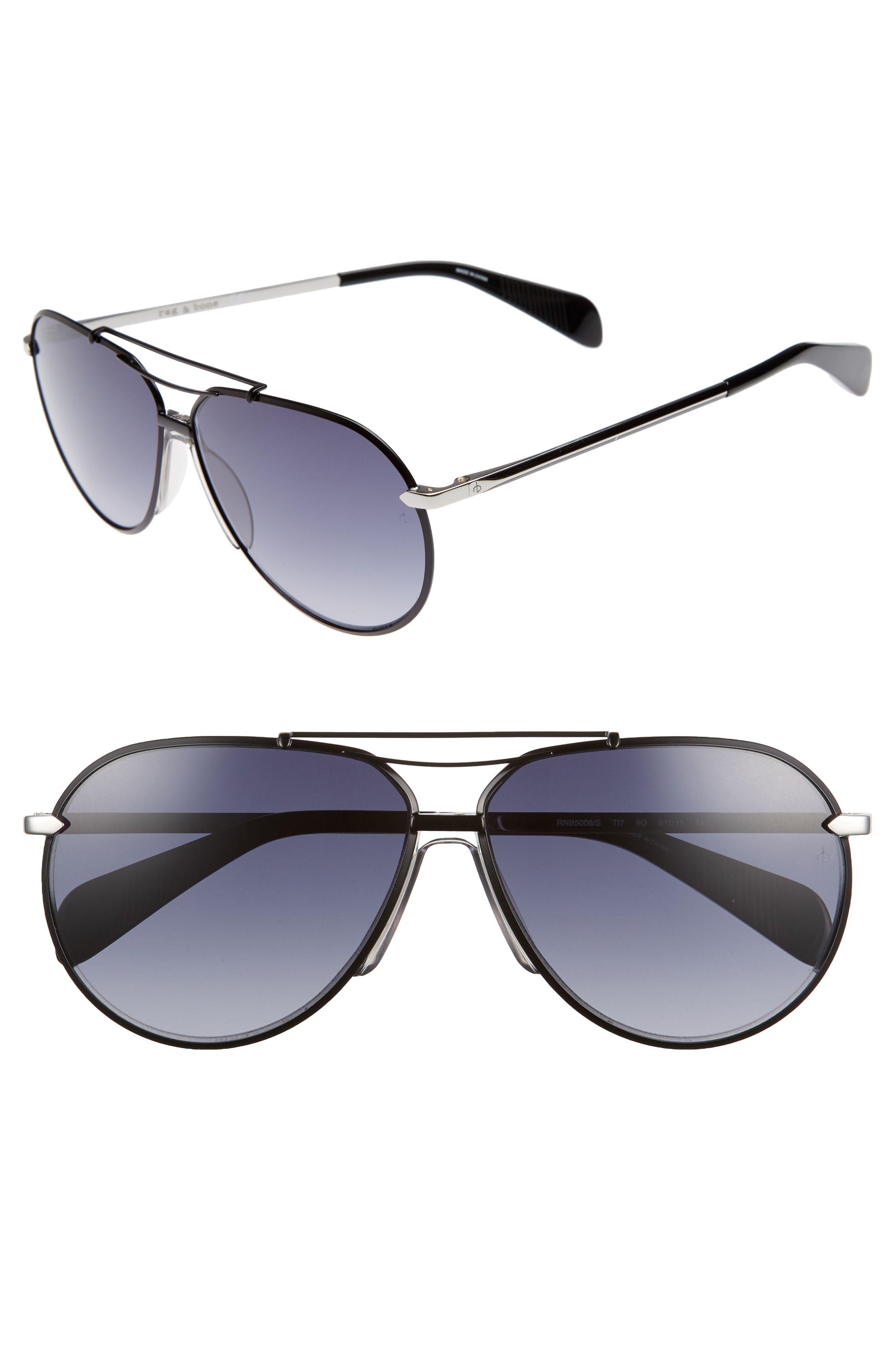 421639966d01e RAG   BONE 61mm Aviator Gradient Sunglasses.  ragbone