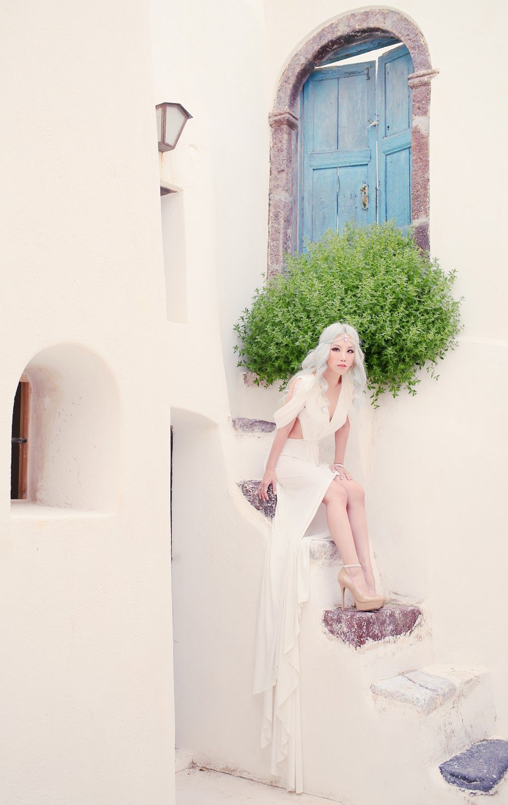 Xiaxue S Amazing Wedding Shoot With Sunrise Greece In Santorini Xiaxue Blogspot Com Wedding Photoshoot Greece Wedding Wedding Shoot