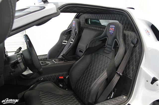 diamond stitch interior love it ssc ultimate aero car 15 pinterest. Black Bedroom Furniture Sets. Home Design Ideas