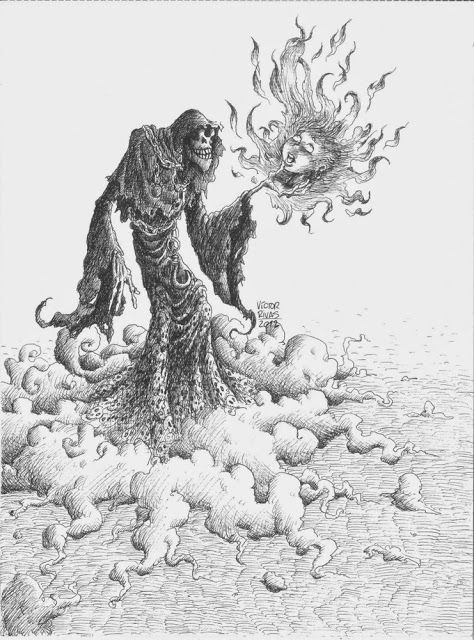 Víctor Rivas Ilustrations: Original: Death