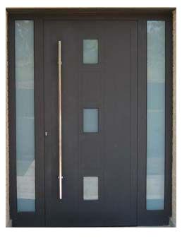 Puertas principales contempor neo herreria moderna for Puertas de entrada principal modernas
