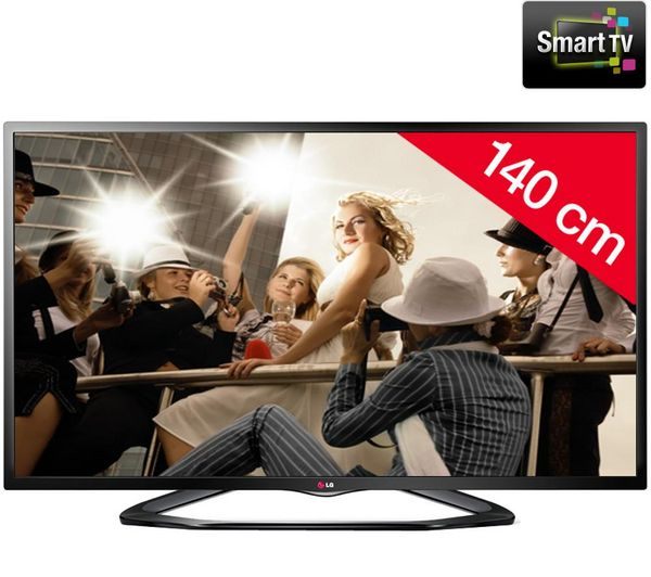 lg 55ln575s t l viseur led 3d smart tv prix promo. Black Bedroom Furniture Sets. Home Design Ideas