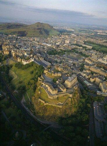 A bird's eye view of Edinburgh!