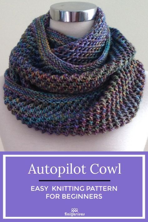 Infinity Scarf: Free Knitting Patterns #scarves