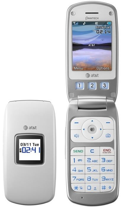 The Pantech Breeze Is An Attractively Slim Flip Phone With A Large