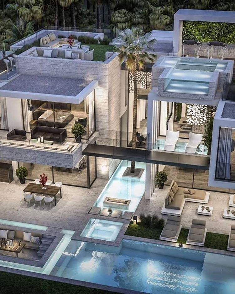 Villa Jumeirah Dubai By B8 Architecture Design Studio This Luxury Modern Villa Located On A Plot Classic House Exterior House Architecture Design House