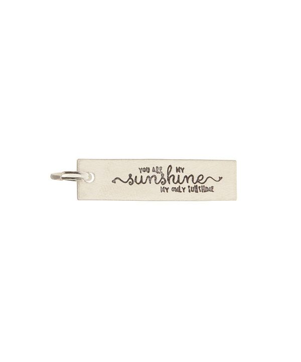 Look at this Sterling Silver 'You Are My Sunshine' Charm on #zulily today!